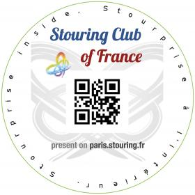 "Exemple de Macaron d'un Etablissement labellisé ""Stouring Club de France"" à Paris"